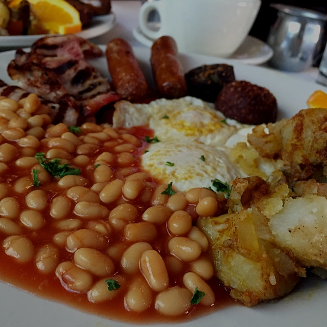 Hands down, my favorite Irish breakfast in Hoboken. All my life, beans have gone with rice. The I...