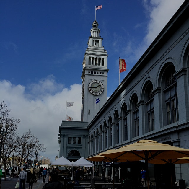 Hoping that thoughts of blue skies, and the Ferry Building Farmer's Market in San Francisco, keep...