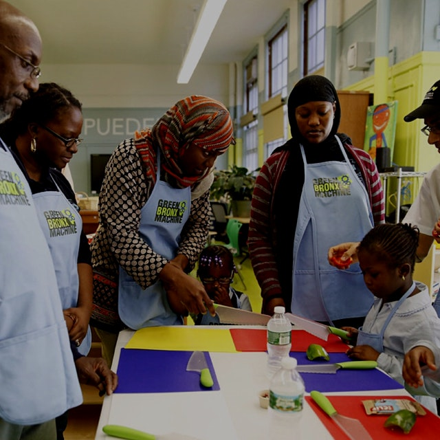 "We need to see more educators bringing food into the classroom.  ""Science teacher Stephen Ritz an..."