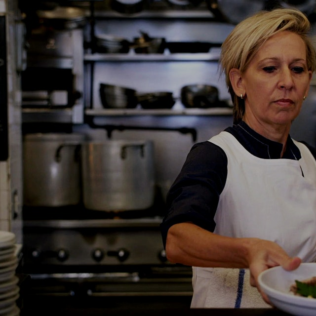 """Enter the mind of chef Gabrielle Hamilton in the first episode of Season 4 of the Emmy-winning a..."