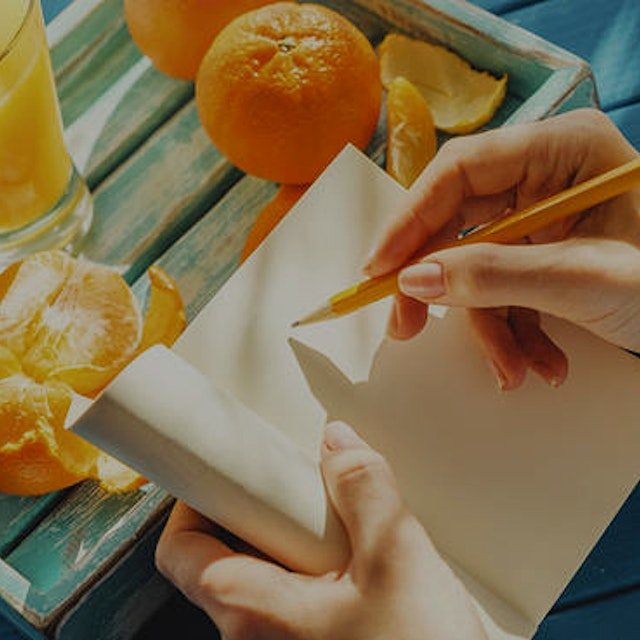 """""""Keeping a food journal—writing down everything you eat before you eat it—is a powerful way to ch..."""