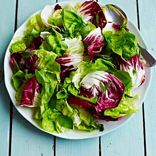 Simple Green Salad with Lemon Dressing
