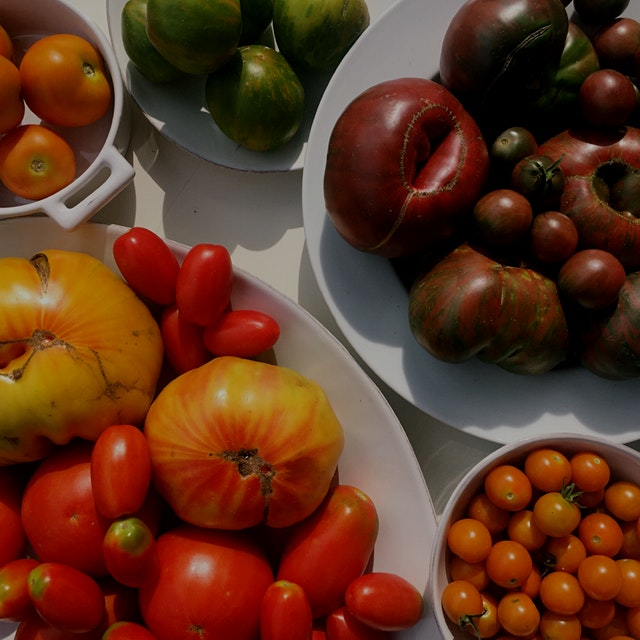 Tomatoes come in such a wide variety of colors, flavored and textures. It's one of my favorite pa...