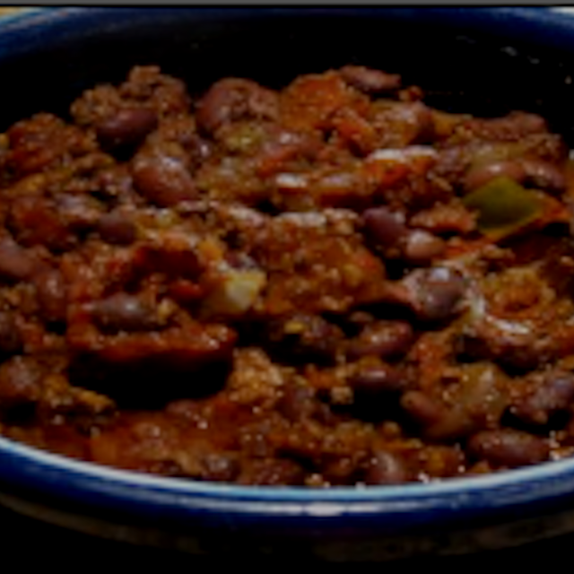 Chili Number of Servings: 10 Serving Size: 1 ¼ cups Equipment: Slow cooker Ingredients: 1 pound d...