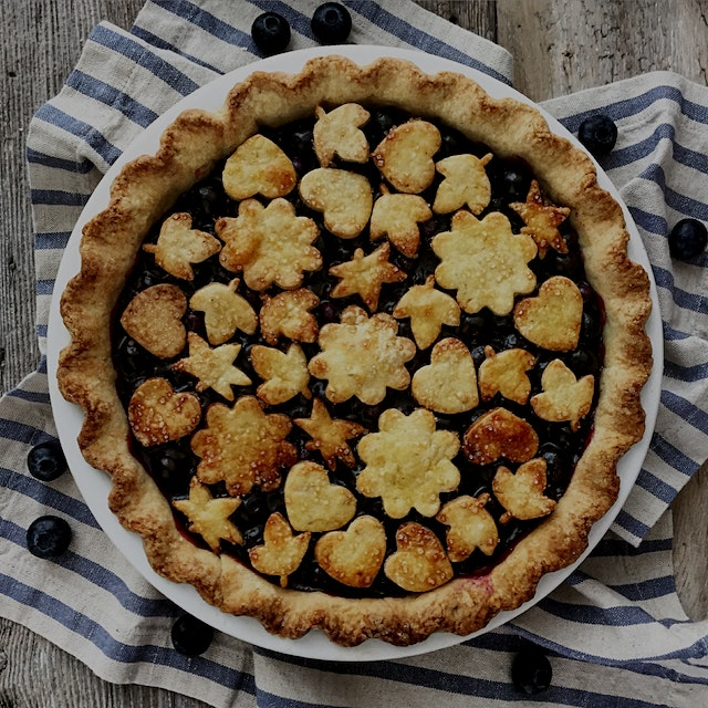 """I can't go too long without baking a pie.  It's in my DNA!  And this summer has provided the mos..."