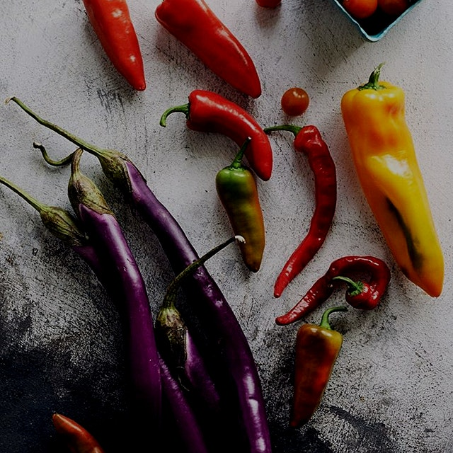 A few late summer jewels...These colors...💜  ... #FlavorsOfLight   The produce is just amazing th...