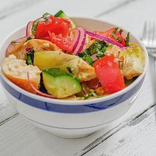 Artichoke Panzanella Salad