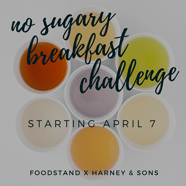 Happy World Health Day, Foodstanders! Our No Sugary Breakfast Challenge starts today! Did you avo...