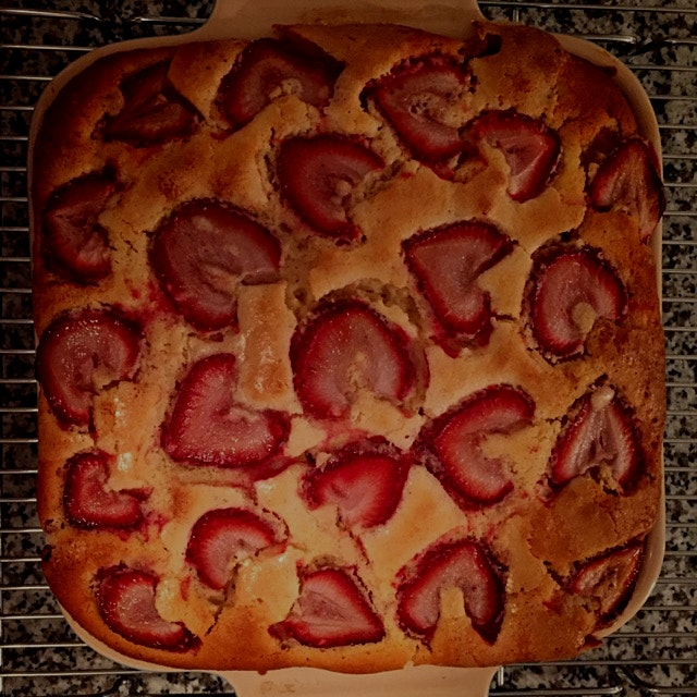 Strawberry shortcake for Mother's Day
