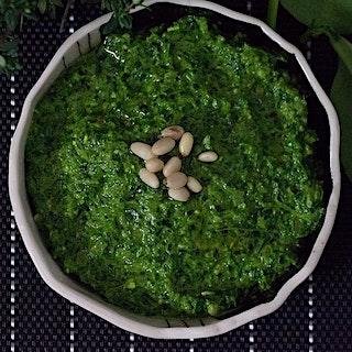 Spinach Shallot Pesto