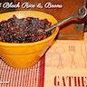 Seared Black Rice & Beans