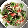 Grilled Tofu Steaks With Spicy Strawberry-Ginger Glaze