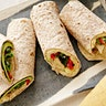 Hummus & Grilled Vegetable Wrap