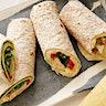 Hummus & Grilled Vegetable Wrap