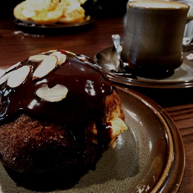 Heaven is a peanut butter & salted caramel donut.