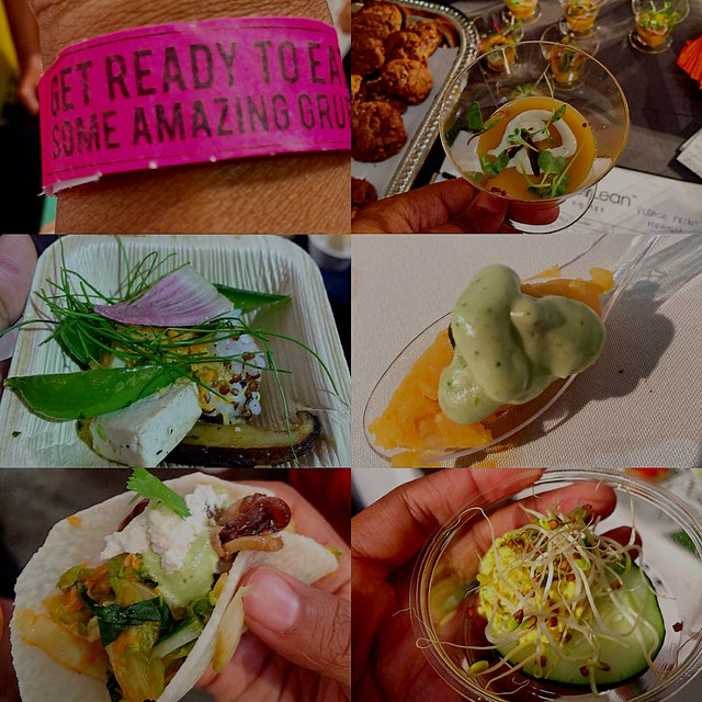 SEED Food and Wine Festival 2015 in Miami - All Plant based = AWESOME