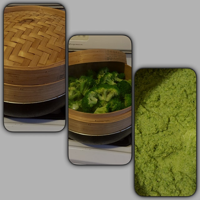 Perfectly steamed Broccoli...Creamy Broccoli Soup.