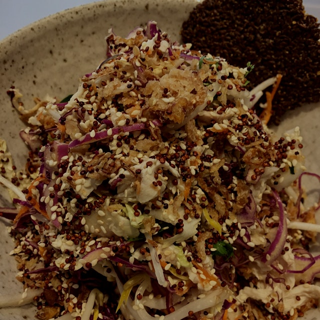 New week, new city - Melbourne, Australia. This salad was a thing of beauty and full of some much...