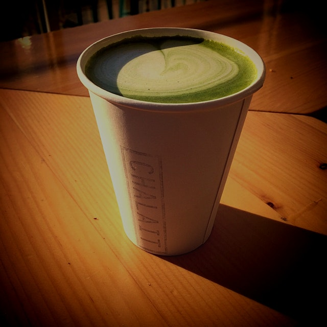 Matcha Latte Made to Perfection :)