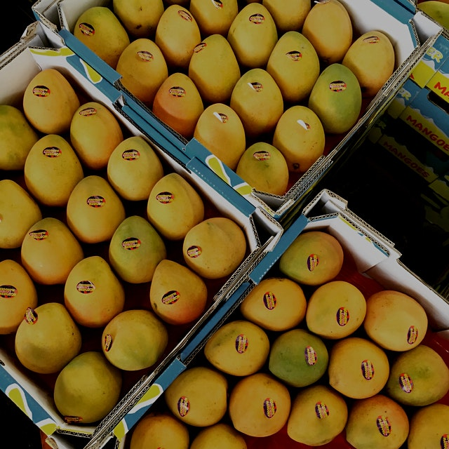 Mango heaven at Melbourne's Prahran Market