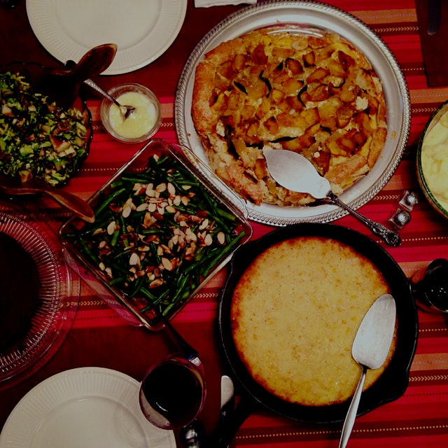 My first Thanksgiving doing all the cooking! Couldn't have pulled it off without my sisters aka s...
