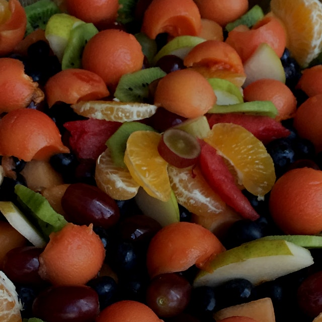 Enjoyed our thanksgiving fruit salad