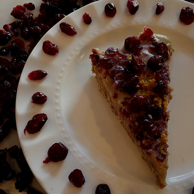 not your Starbucks cranberry bliss bar