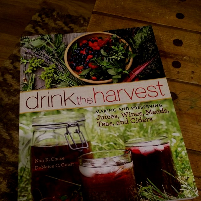 Exciting new book, especially excited about the wine creation section. Passionflower-Lemon Balm w...