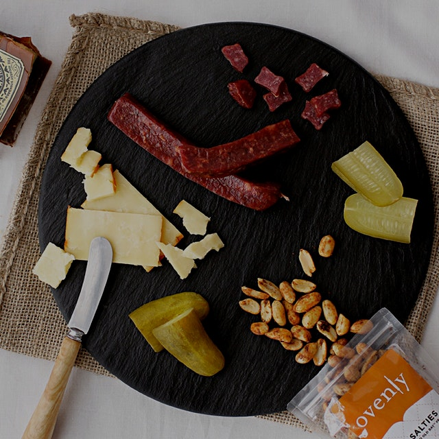 My choice for #giftgoodeats might involve a slate board from @brooklynslate and some damn fine ch...