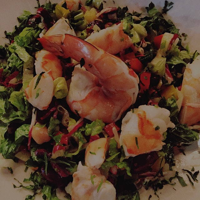 The 3rd Ave Jumbo Shrimp Salad