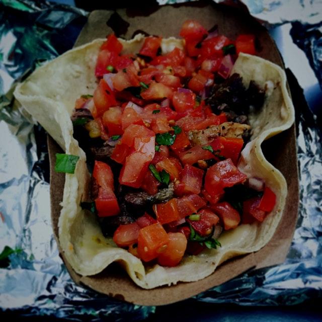 Carne Asada Tacos at Dos Toros = 👌
