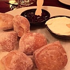 An incredible sweet treat!  Fresh table side donuts. #GiftGoodEats