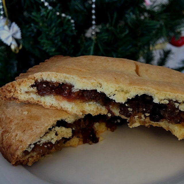 Belated Christmas post 1: Christmas mince pies, pop tart style!