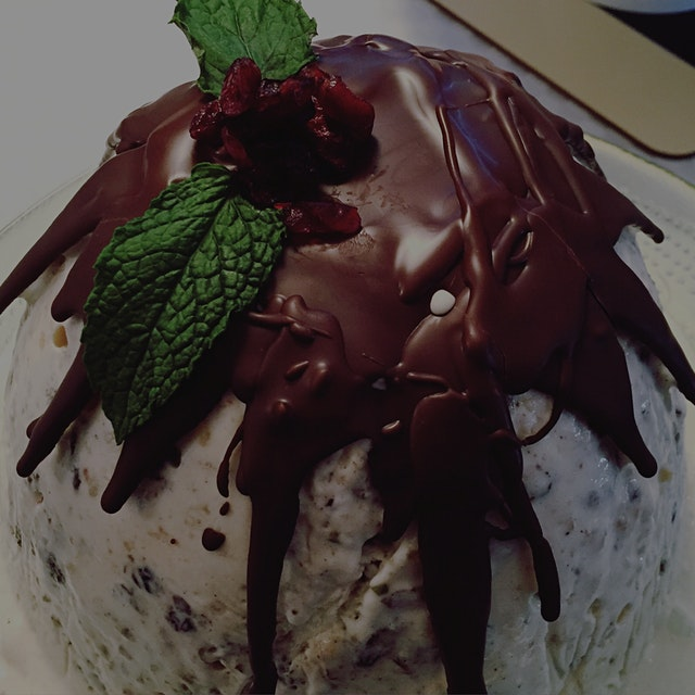 Belated #Christmas post 2: a Southern Hemisphere summer take on a Christmas pudding, aka a decora...