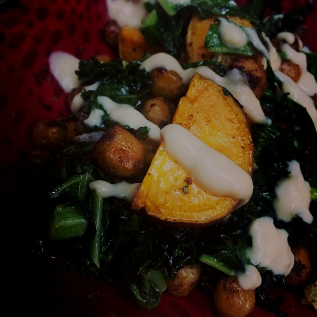 Chickpea Sweet Potato Buddha Bowl