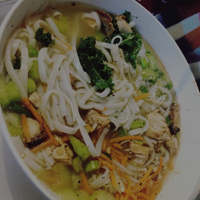 Chicken Rice Noodle Bowl