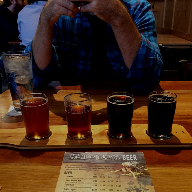 Flight of Four - Bell's Brewery IPA's vs Stouts