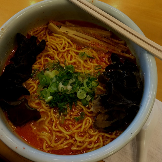 A perfect bowl of #Ramen on this cold winter day. #meatlessmonday #GetReal