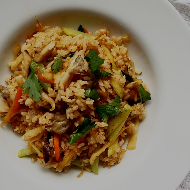Kimchi fried rice!  #GetReal