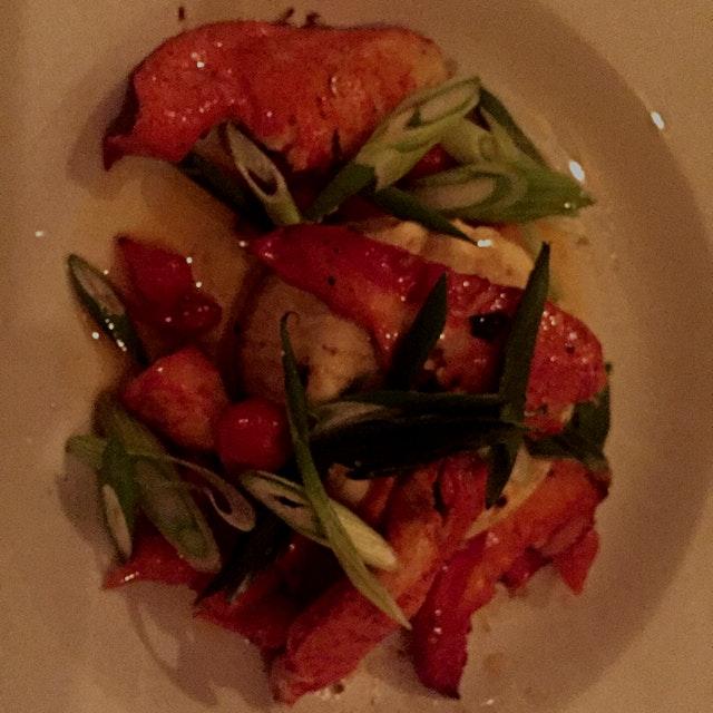 Lobster birthday flan 🙋🏻