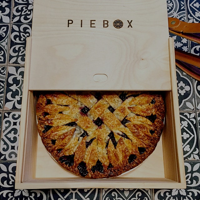 Dear friends trudged through NYC in December to the Food52 pop up store to find me a PieBox! They...