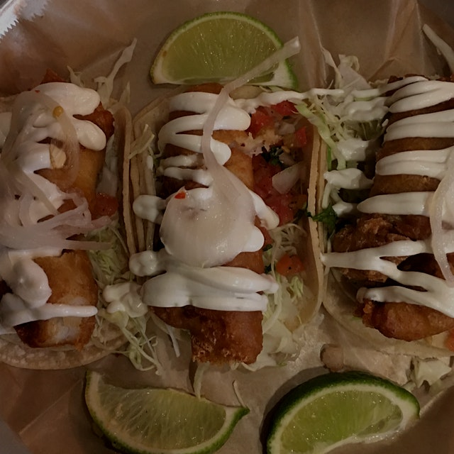 Baja Fish Tacos are only $1.99 each on Wednesdays after 3 pm