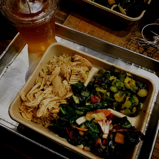 My first time here and definitely not my last! A delicious #marketplate courtesy of @diginn. Than...