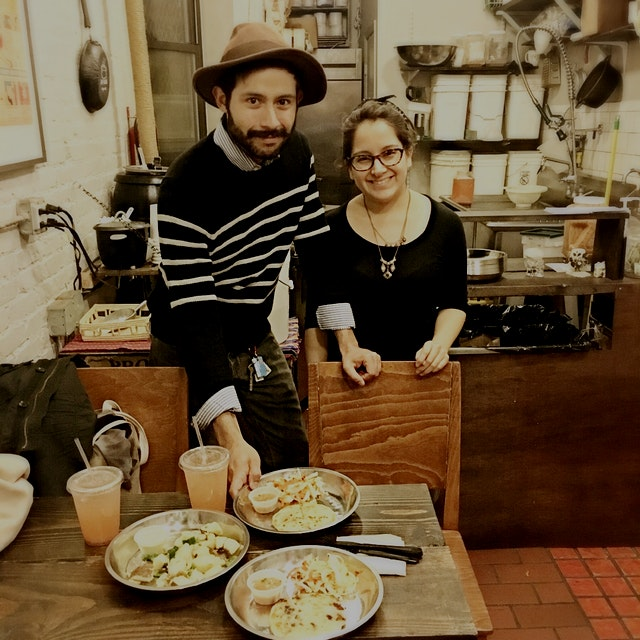 This story makes me so happy- Randy pitched his idea for a pupusa restaurant at spotlight. He met...