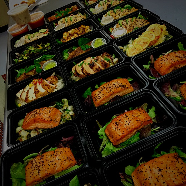 Our Monday's have brought us into Brooklyn to deliver these awesome lunches. #officelunch