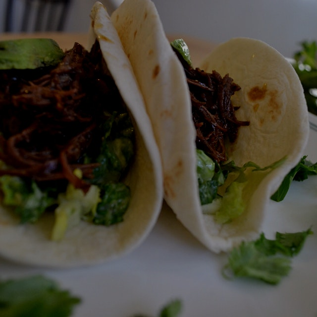 Shredded Short Rib tacos are perfect for Taco Tuesday. Let the oven do all the work as the beef b...