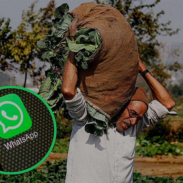 """The social media app is making new connections between farmers and consumers."" #foodnews"