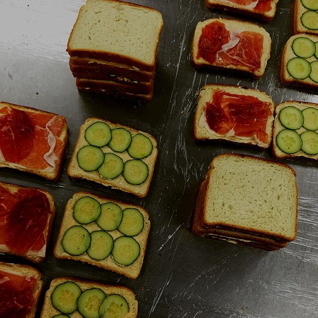These Prosciutto & Cucumber Tea Sandwiches are made for an extra special event for an extra speci...