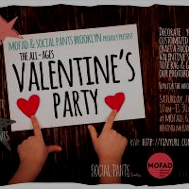 Family Valentine's Day Bash with Social Pants in Brooklyn from ShowClix. This event is for child...