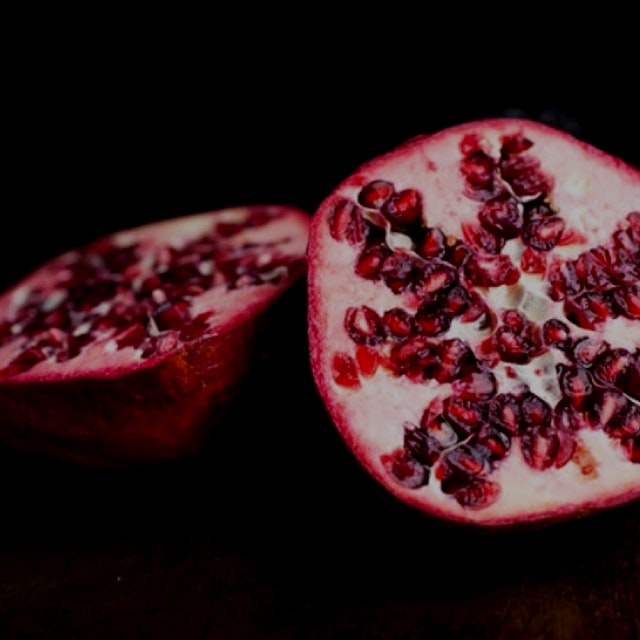 More reasons to consume excessive amounts of pomegranate #nutritionnews